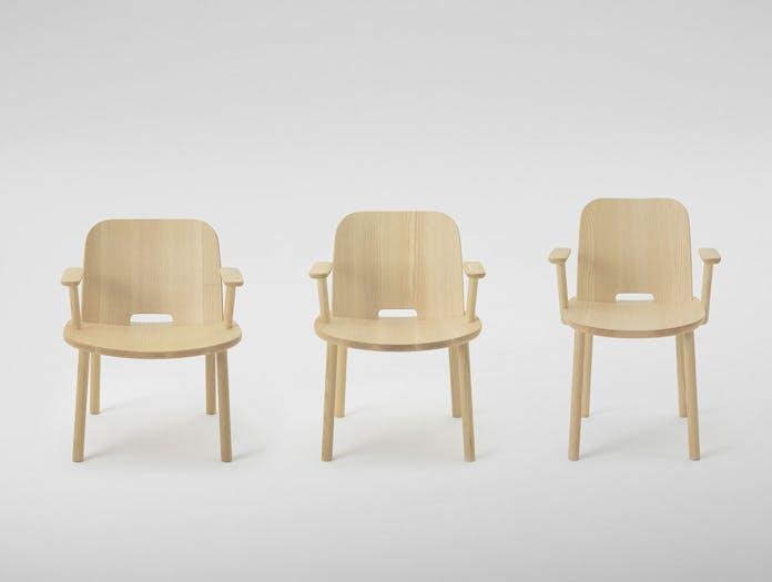 Maruni fugu chair collection