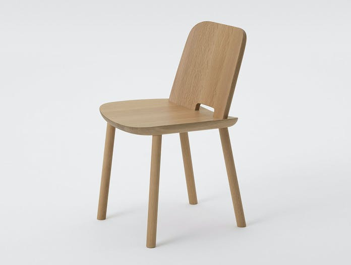 Maruni fugu chair oak without arms