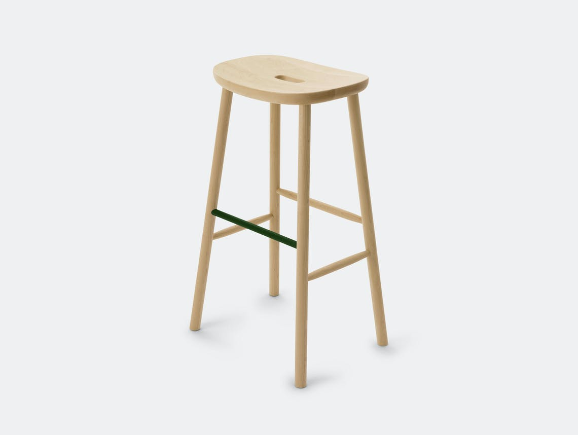 Maruni O Stool H Maple Jasper Morrison