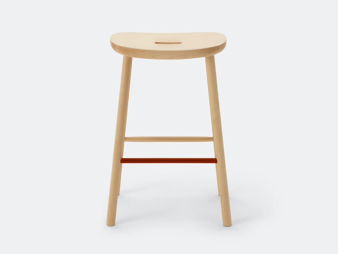 Maruni O Stool M Maple Jasper Morrison