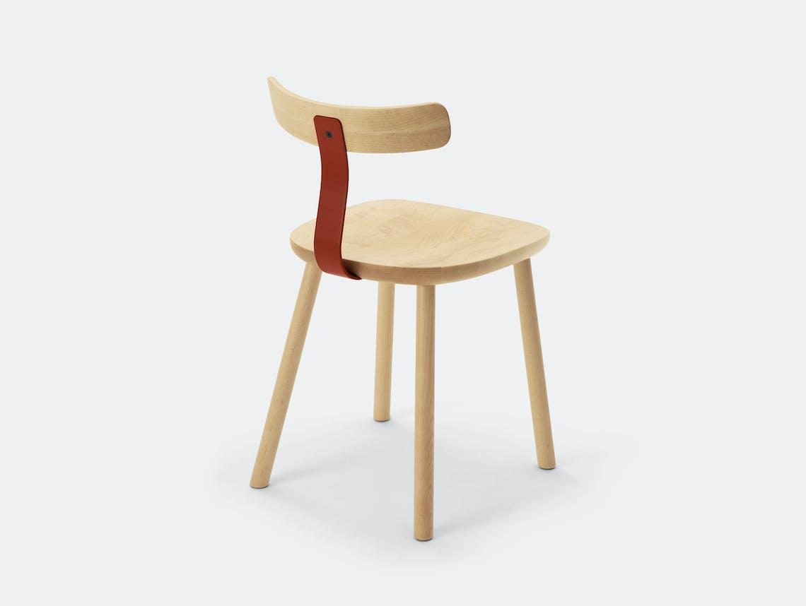 Maruni T Chair Maple Jasper Morrison