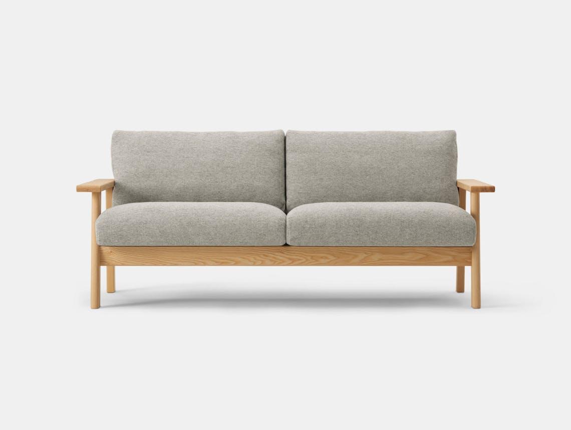 Maruni Bruno 2 Seater Sofa Ash 2 Jasper Morrison