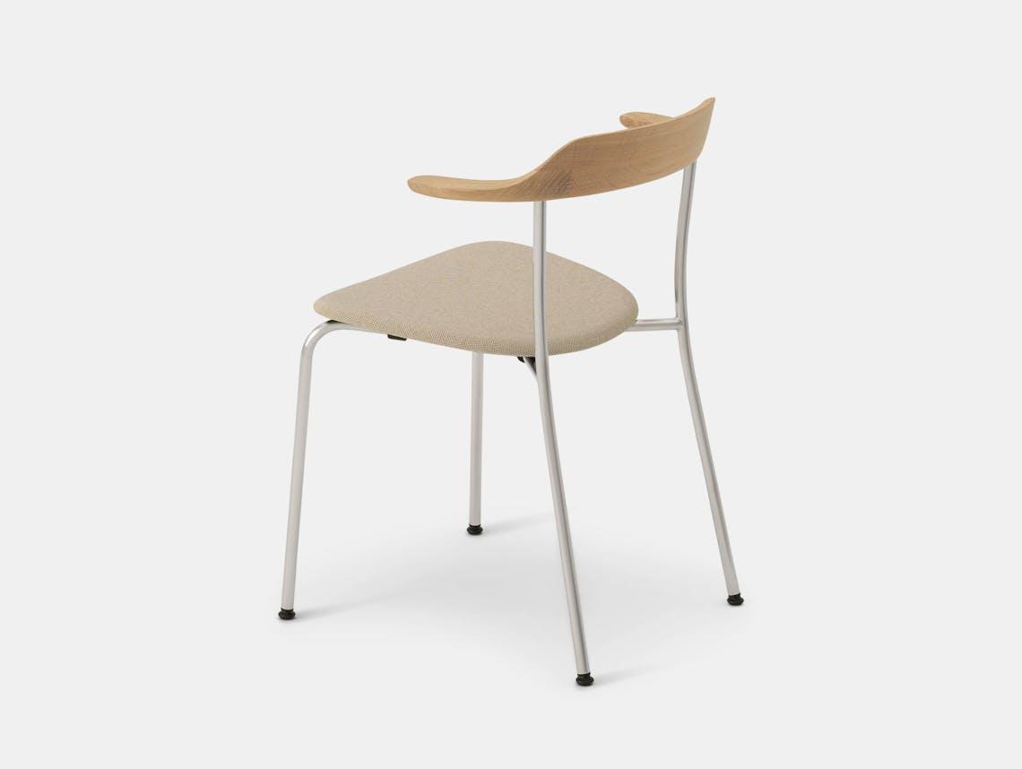 Maruni Hiroshima Stackable Chair Hr 1706 Armchair Stk Oak Naoto Fukasawa