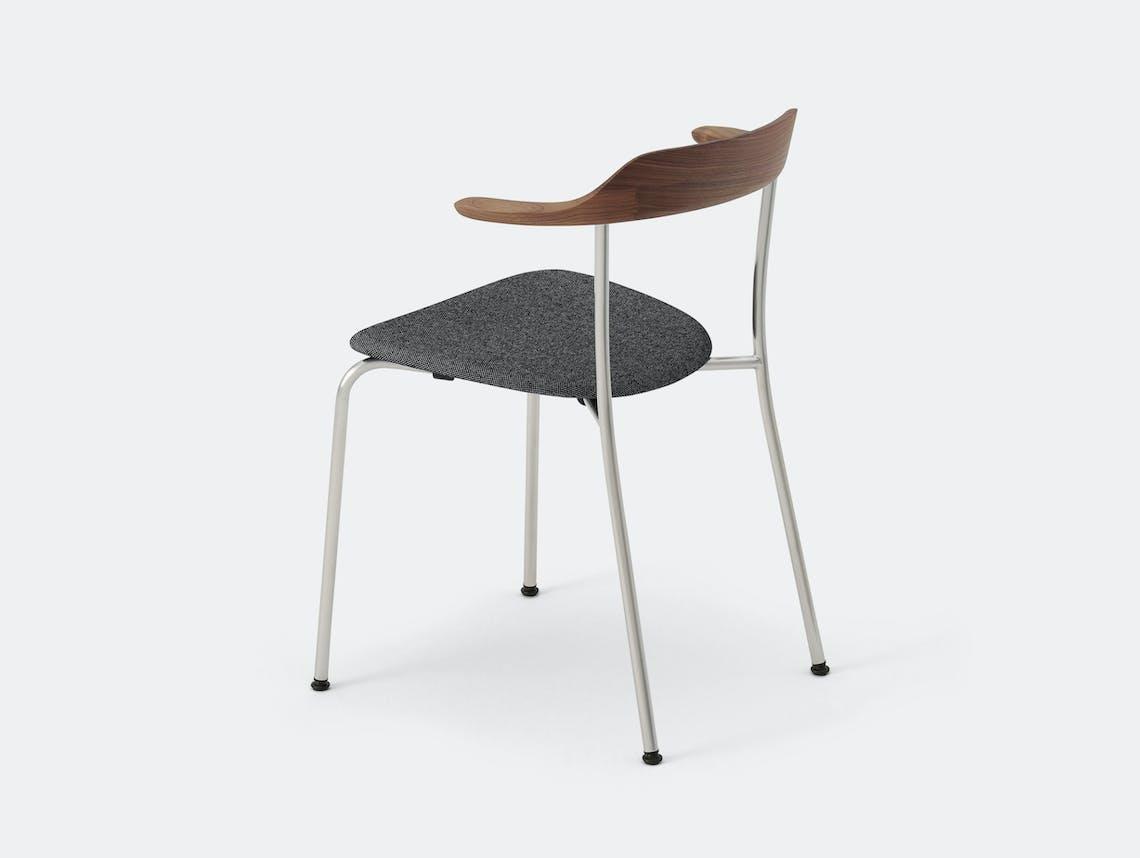 Maruni Hiroshima Stackable Chair Hr 1712 Armchair Stk Walnut Naoto Fukasawa
