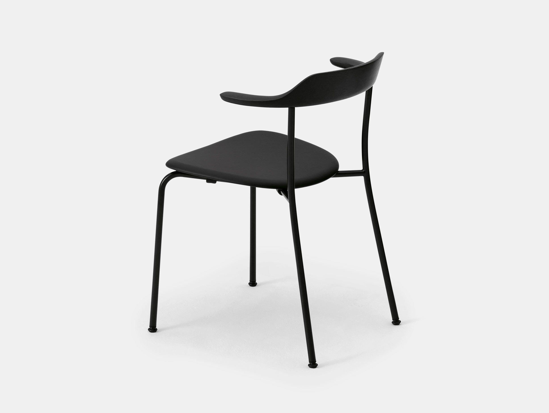 Maruni Hiroshima Stackable Chair Hr 1714 Armchair Stk Oak Naoto Fukasawa