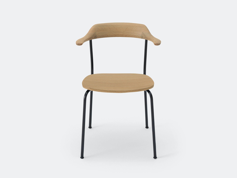 Maruni Hiroshima Stackable Chair Oak Naoto Fukasawa
