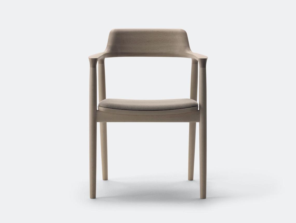 Maruni Hiroshima Armchair Beech Fabric 1 Naoto Fukasawa