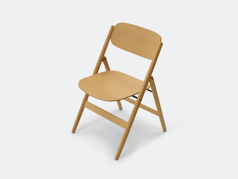 Maruni Hiroshima Folding Chair Beech Naoto Fukasawa