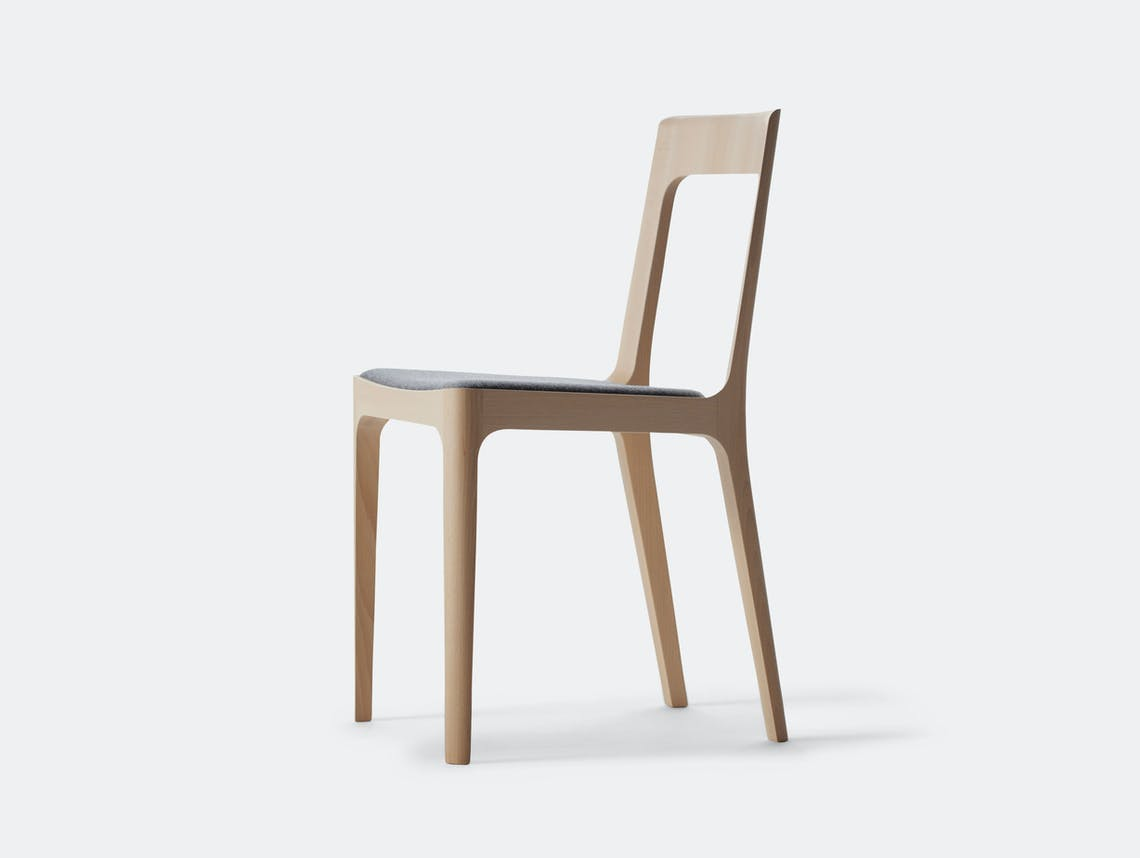 Maruni Hiroshima Side Chair Beech Naoto Fukasawa