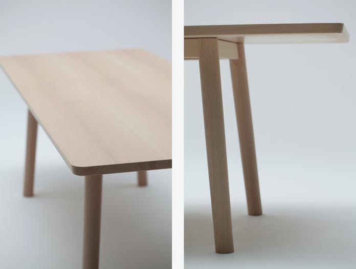 Maruni Hiroshima Table Detail