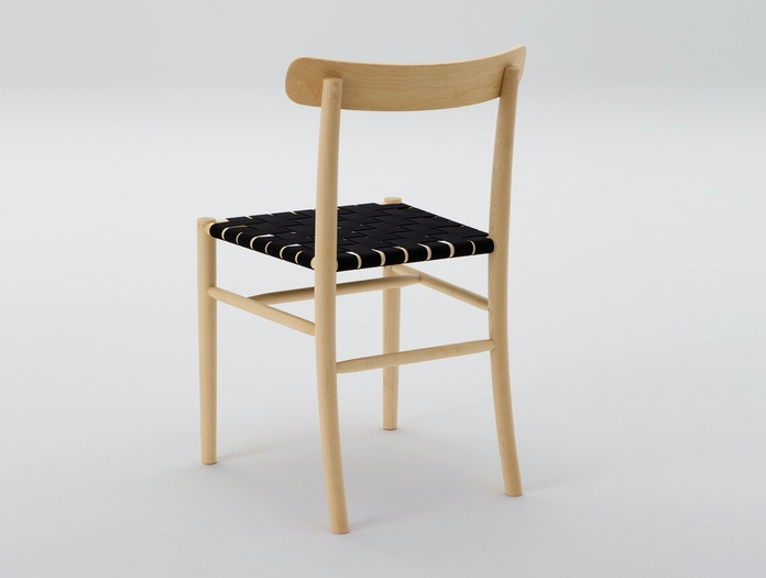 Maruni Lightwood Chair Maple Webbing Seat