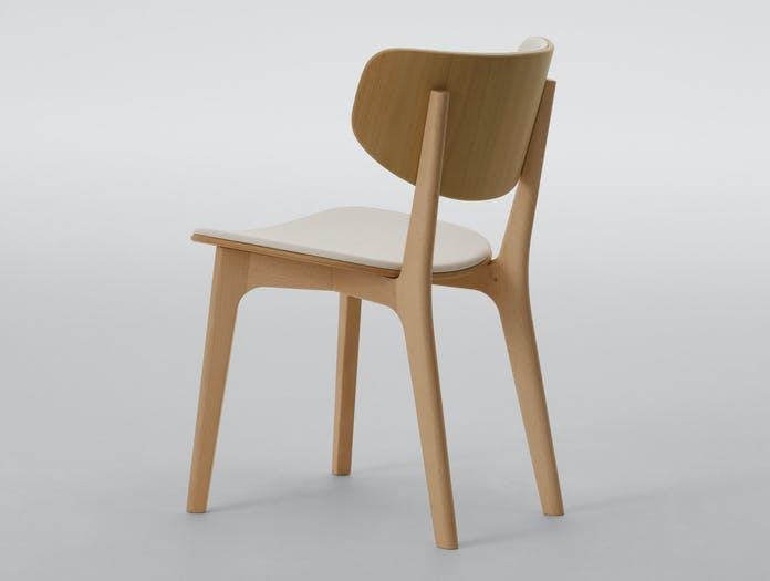 Maruni Roundish Chair Beech 1