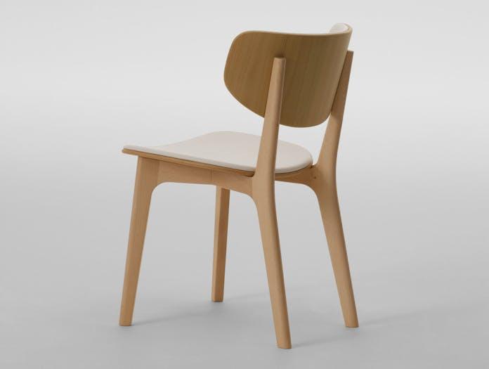 Maruni Roundish Chair Beech 1