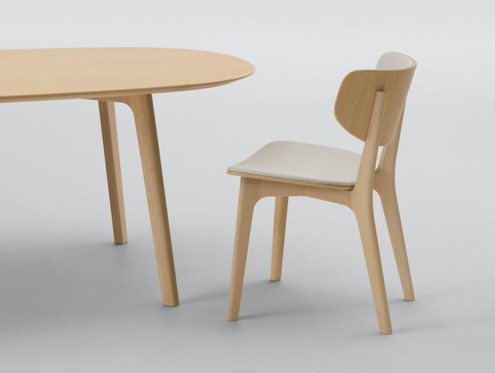 Maruni Roundish Chair Beech 26