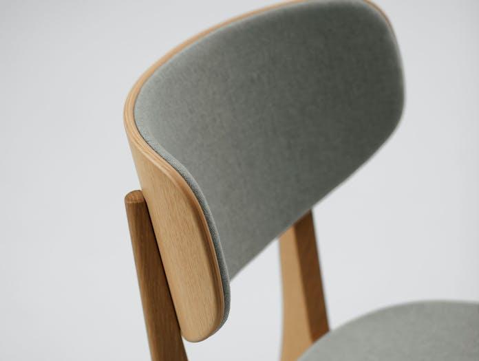 Maruni Roundish Chair Oak