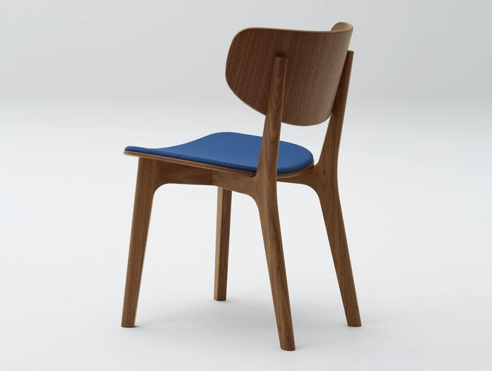 Maruni Roundish Chair Walnut