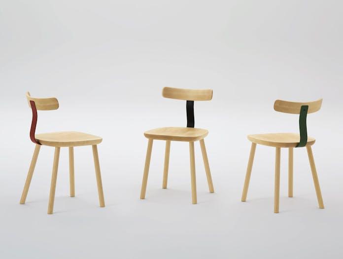Maruni T 1605 Chair Maple