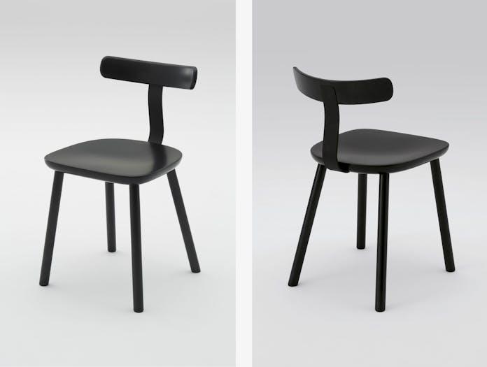 Maruni T Chair Black