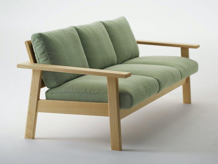 Maruni Bruno 3 Seater Sofa Ash