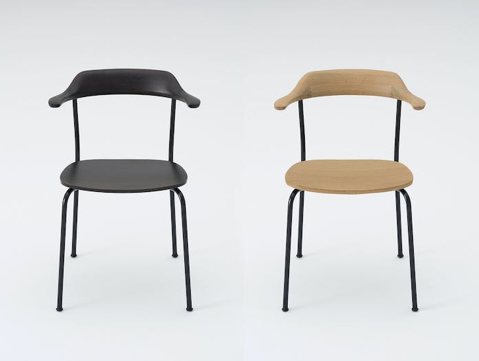 Maruni Hiroshima Stackable Chairs