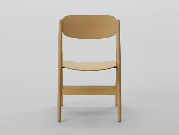Maruni Hiroshima Folding Chair Beech 01