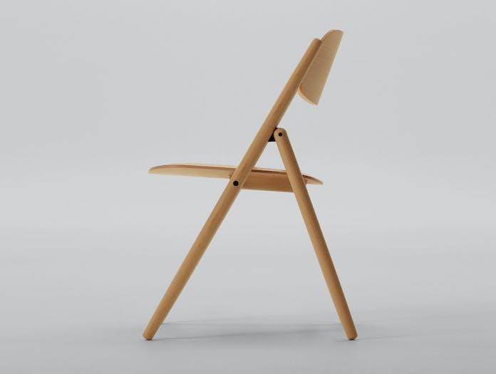 Maruni Hiroshima Folding Chair Beech 02
