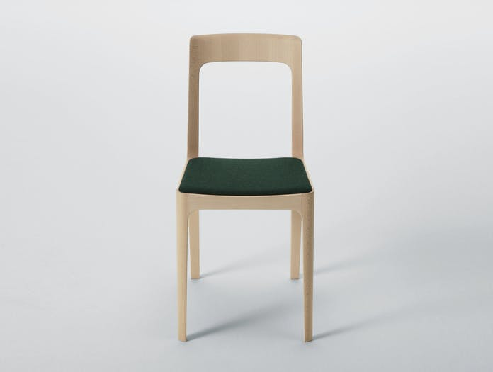 Maruni Hiroshima Side Chair Beech Divina Seat
