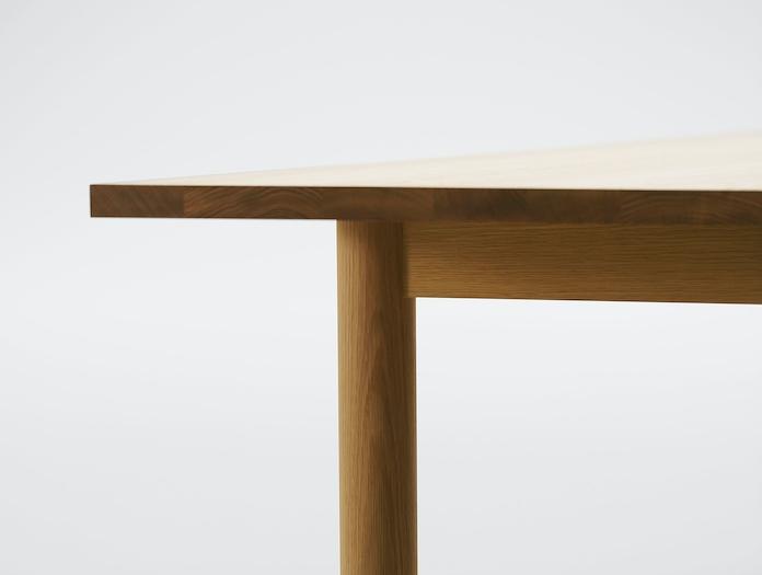 Maruni Malta Table Oak Detail
