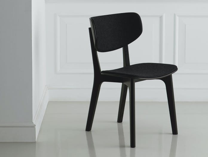 Maruni Roundish Chair Black Divina