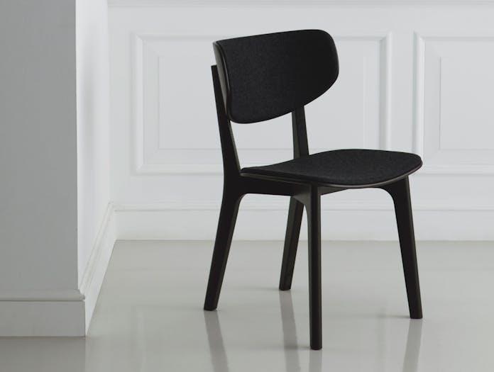Maruni Roundish Chair Black Divina