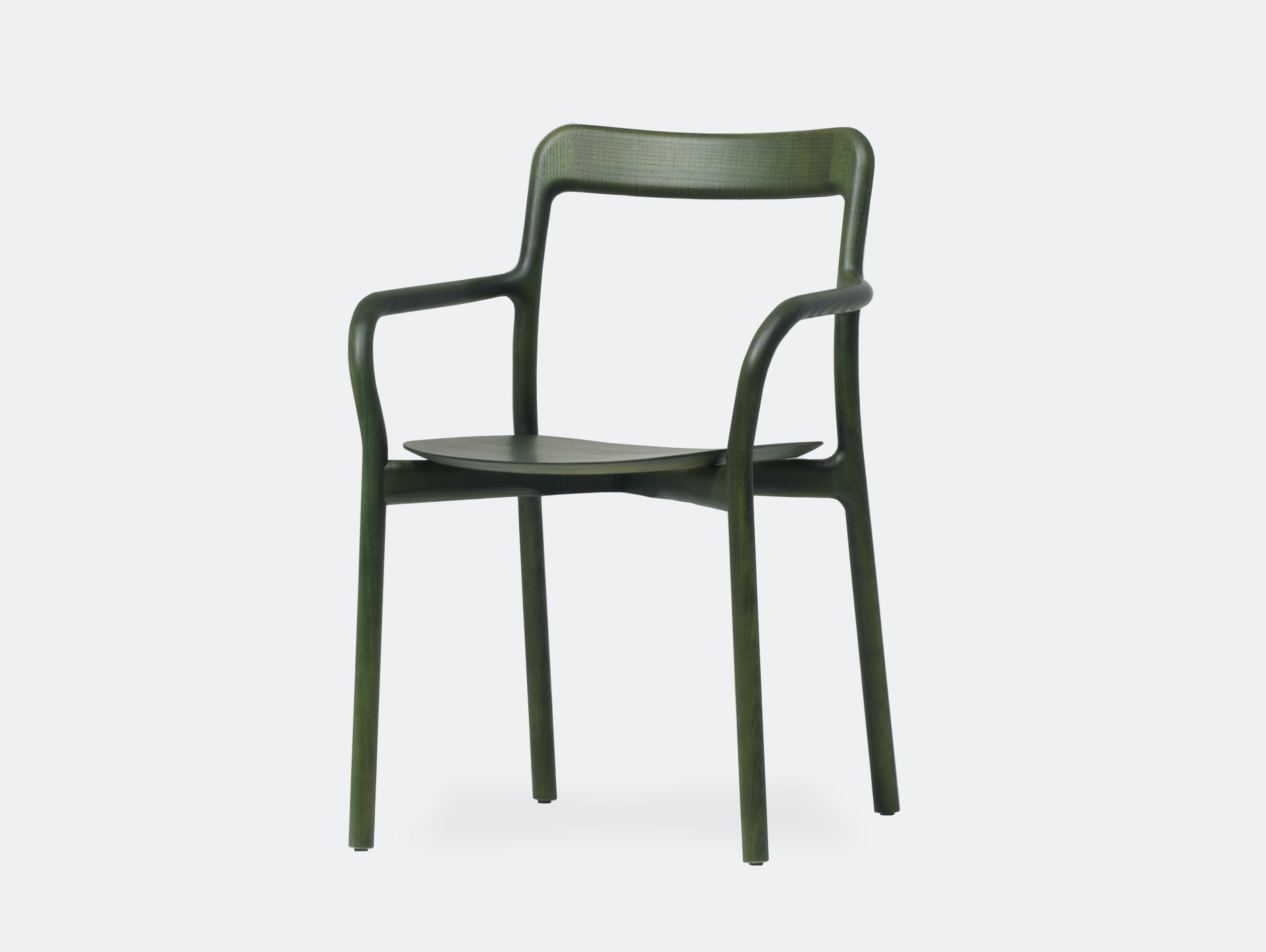 Mattiazzi Branca Chair Green Sam Hecht Kim Colin