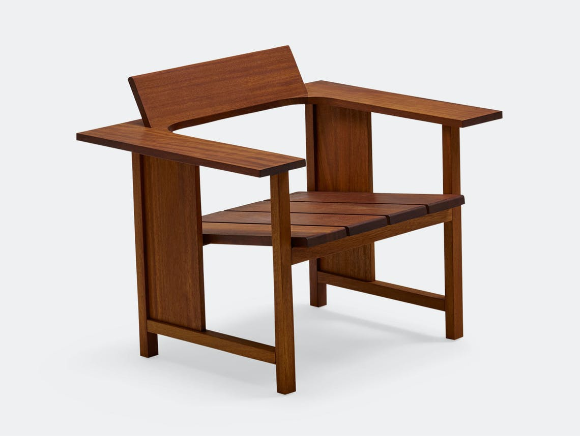 Mattiazzi Clerici Lounge Chair Iroko Konstantin Grcic