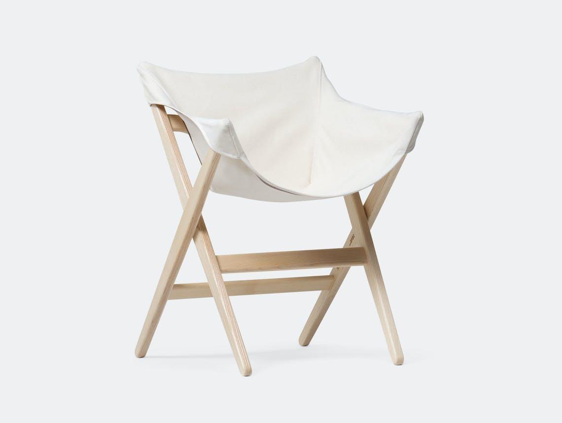 Mattiazzi Fionda Side Chair Ash Natural Canvas Jasper Morrison