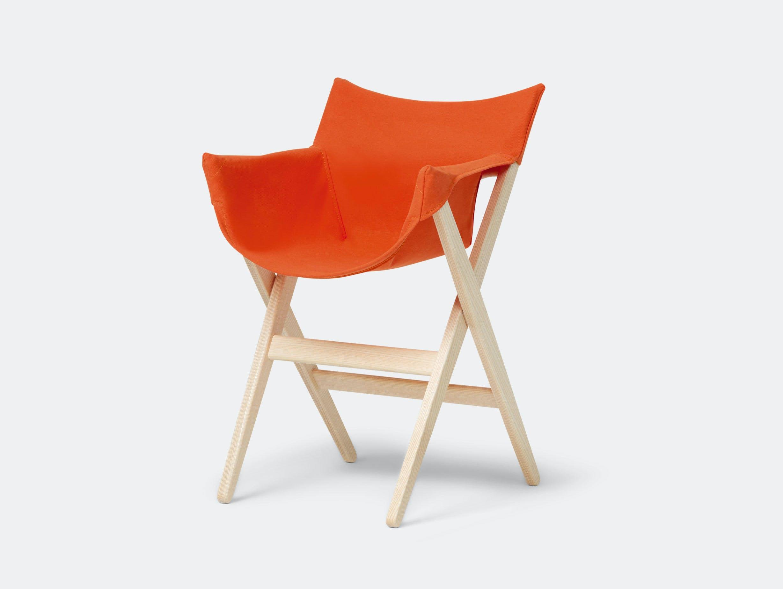 Mattiazzi Fionda Side Chair Ash Orange Jasper Morrison