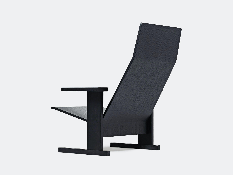 Mattiazzi Quindici Lounge Chair Black Ronan Erwan Bouroullec
