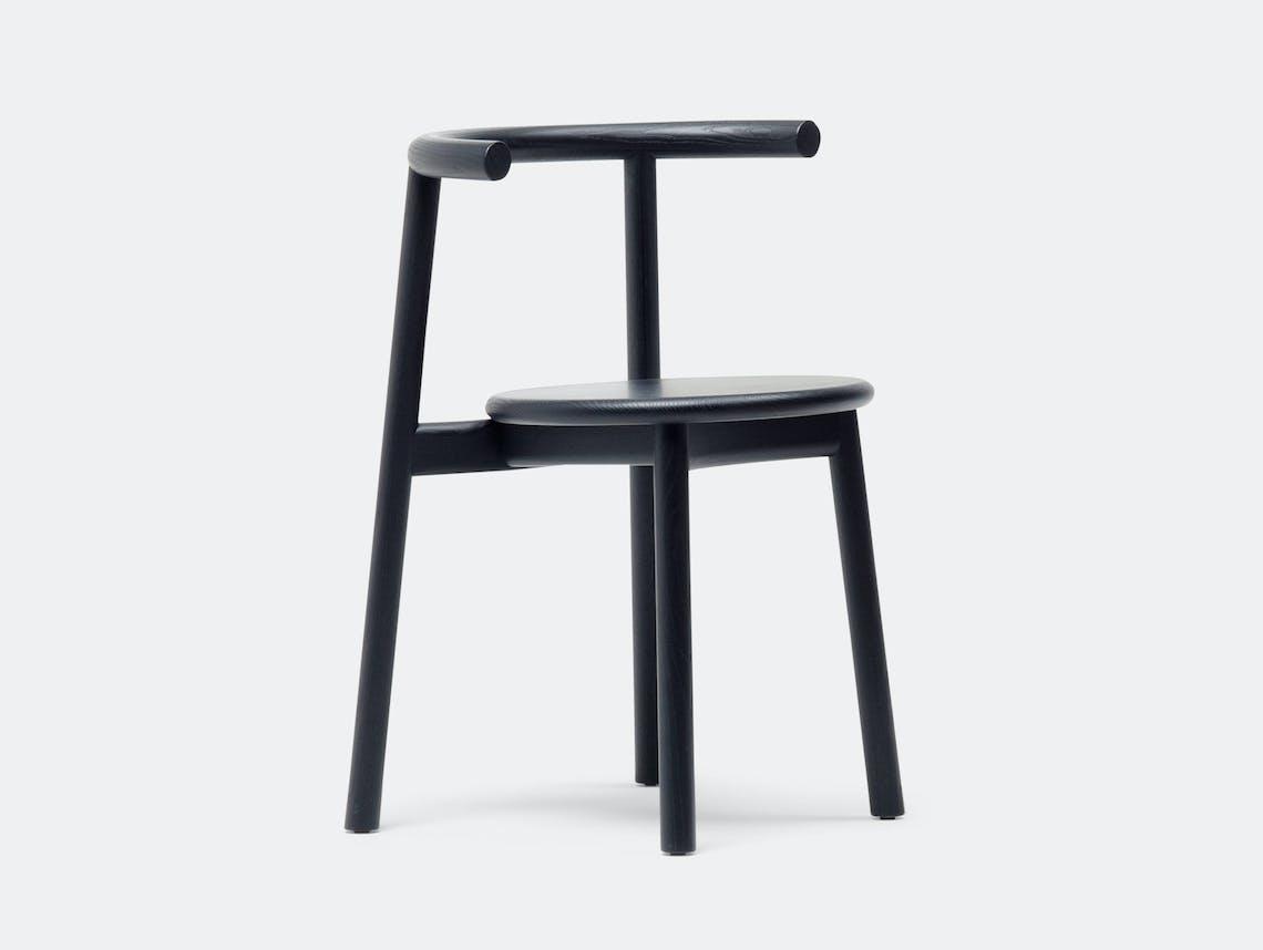 Mattiazzi Solo Chair Black Ash Studio Nitzan Cohen