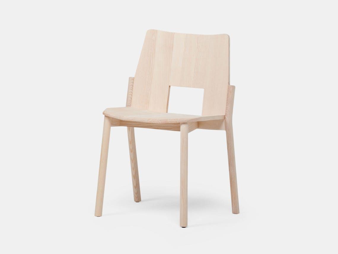 Mattiazzi Tronco Chair Ash Industrial Facility