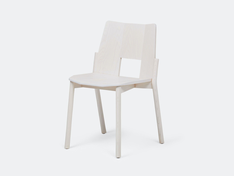 Mattiazzi Tronco Chair Ash White Industrial Facility