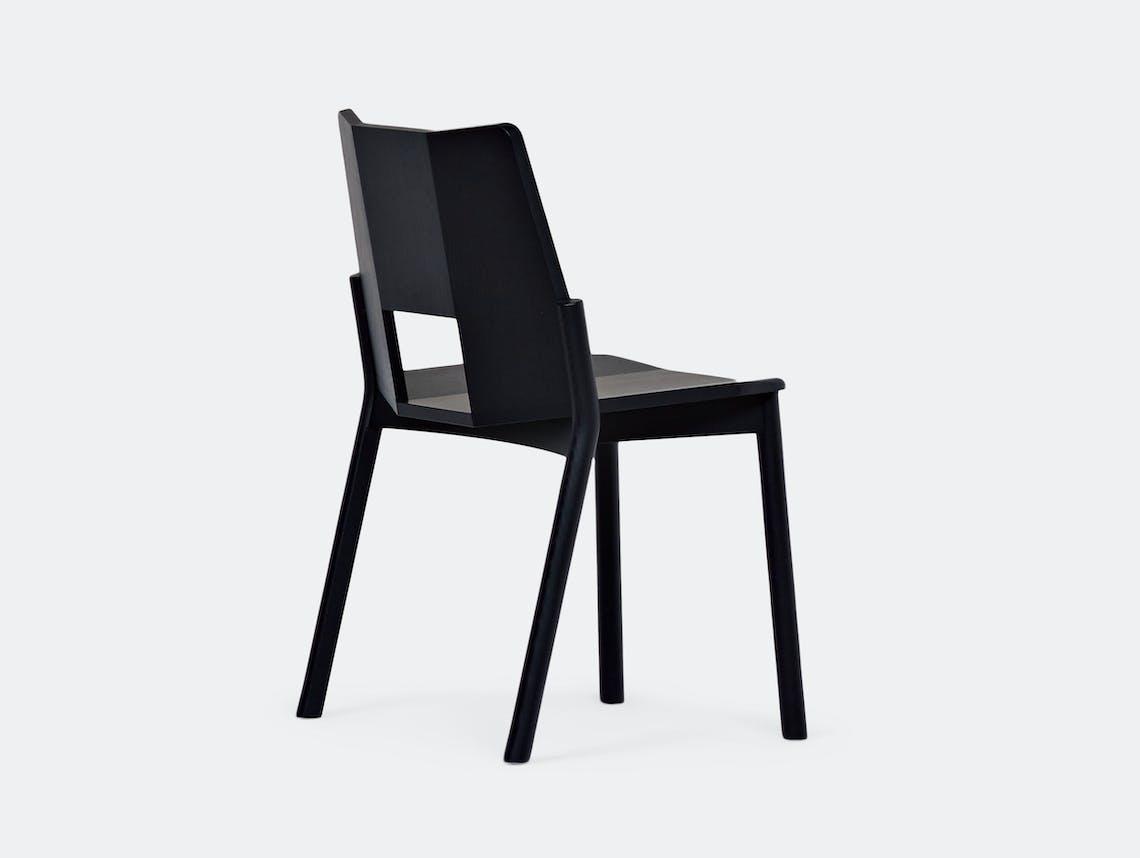 Mattiazzi Tronco Chair Sam Hecht Black