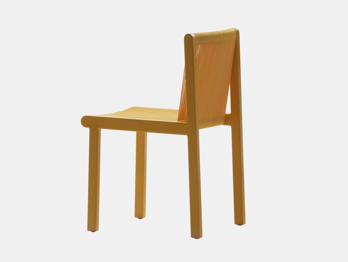 Mattiazzi filo chair yellow