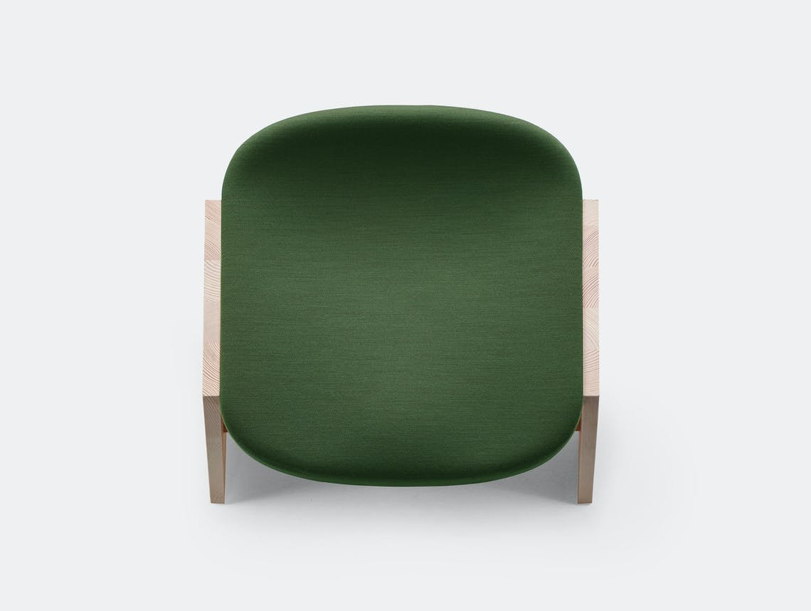 Mattiazzi fronda soft stool green