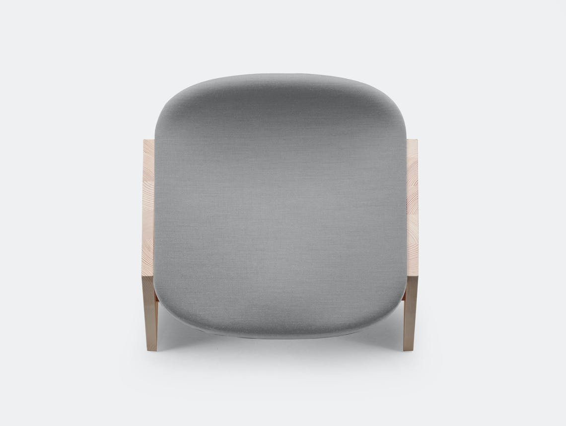 Mattiazzi fronda soft stool grey