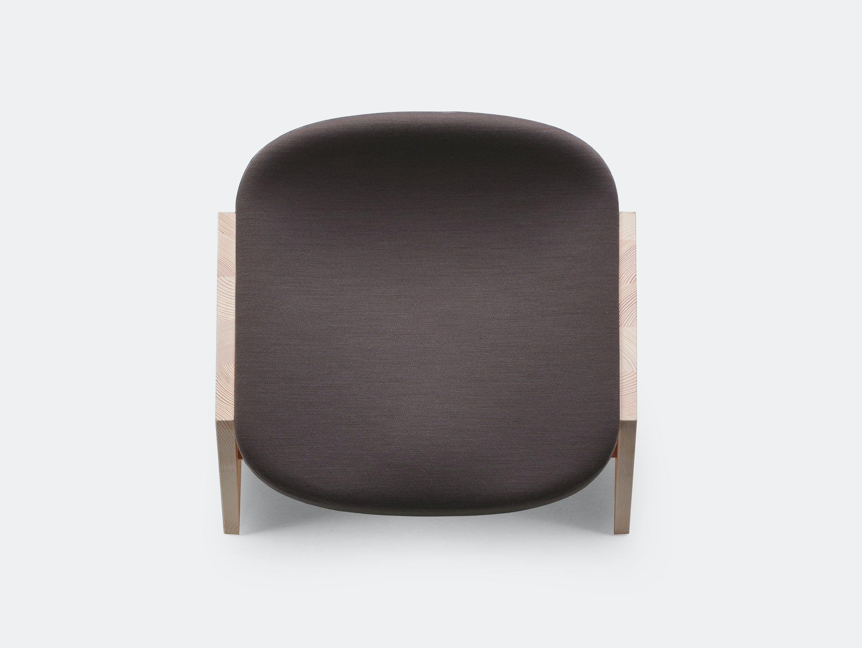 Mattiazzi fronda soft stool marron