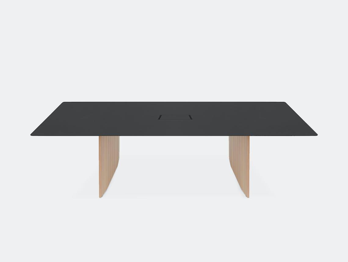Mattiazzi fronda table black pine 240 cable ct 2