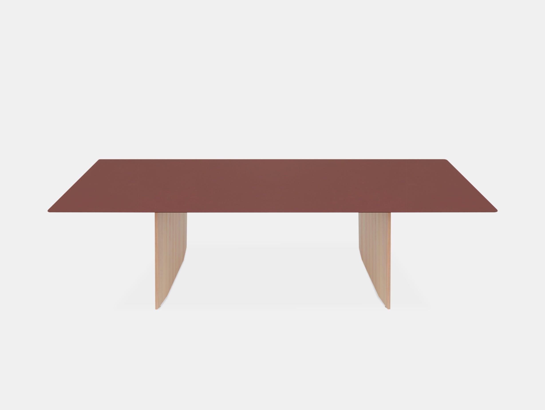 Mattiazzi fronda table rosso jaipur pine 240 ct