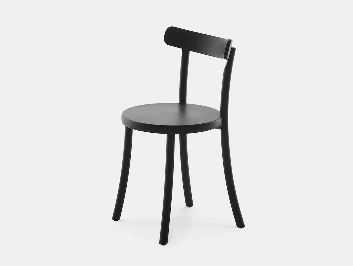 Mattiazzi zampa chair black ash