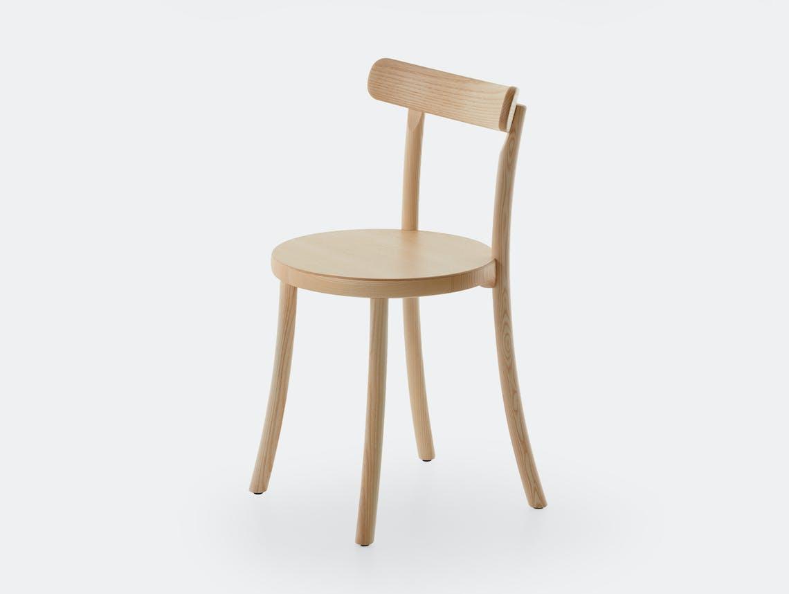 Mattiazzi zampa chair natural ash