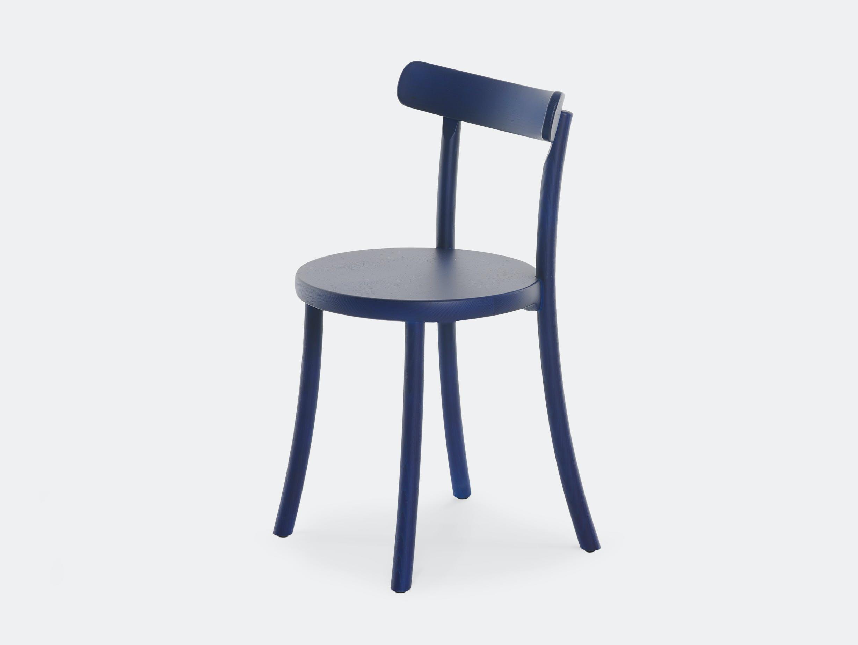 Mattiazzi zampa chair neon blue ash