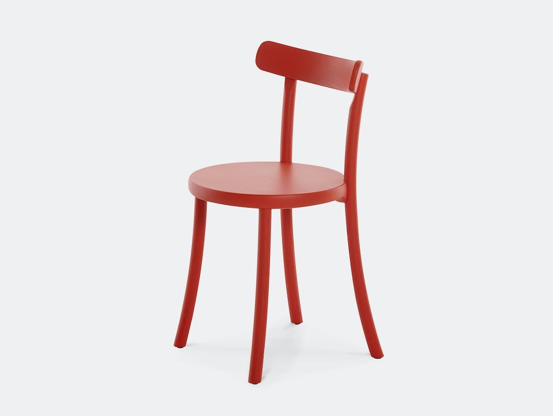 Mattiazzi zampa chair red ash
