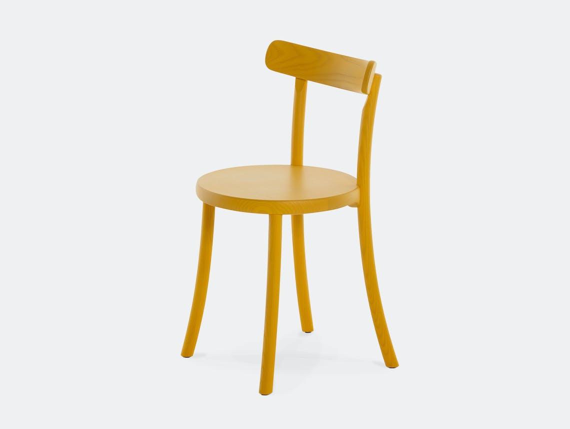 Mattiazzi zampa chair yellow ash